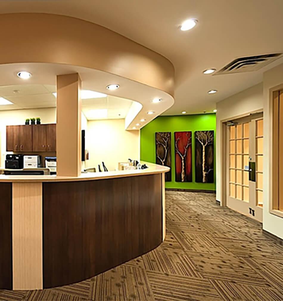 Hillside dentistry mac interior design