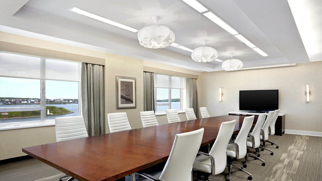 Westin nova scotia crown boardroom mac interior design for Interior decorators dartmouth ns